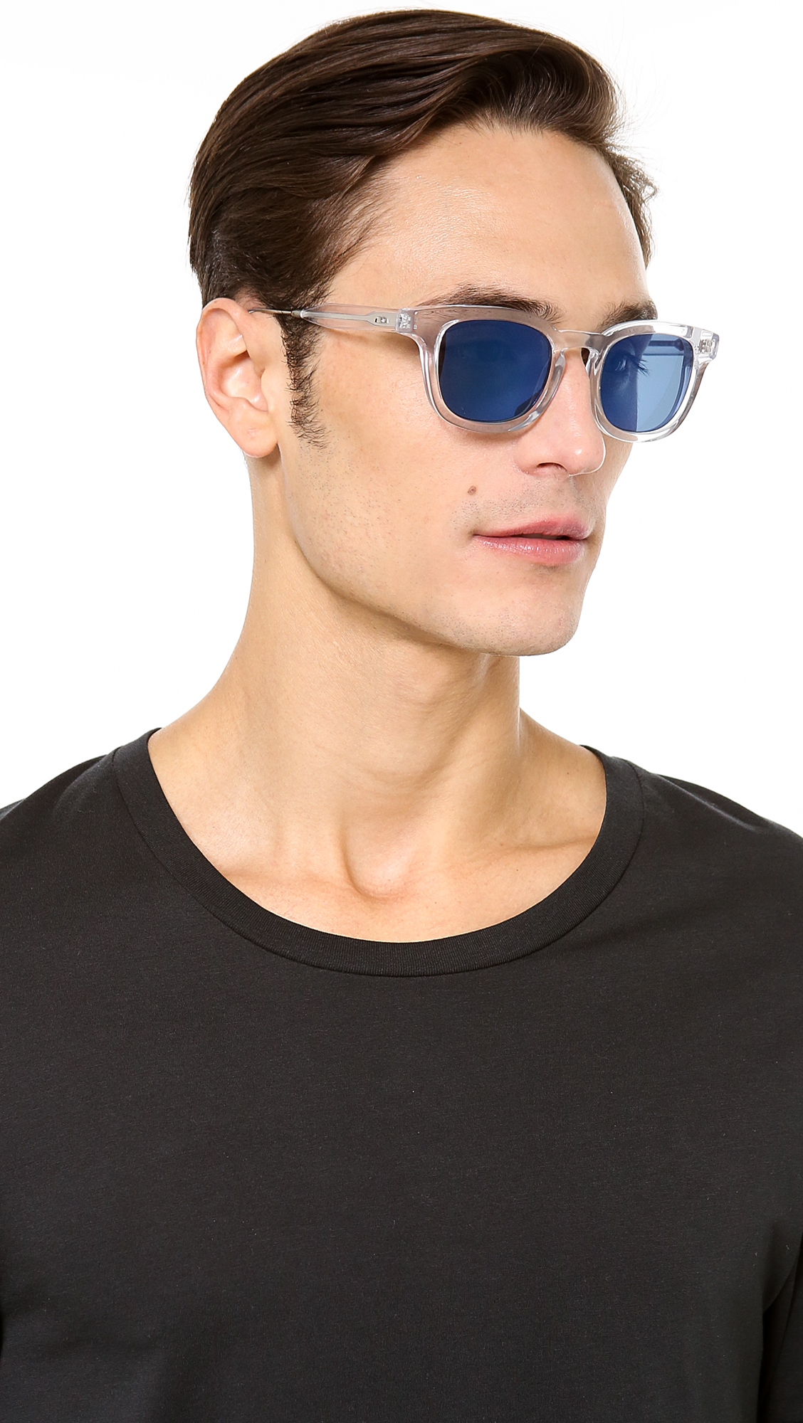 a779090624 Oliver Peoples West Cabrillo Crystal Sunglasses