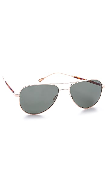 Oliver Peoples West Piedra Gold Sunglasses
