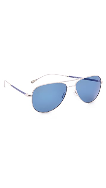 Oliver Peoples West Piedra Sunglasses