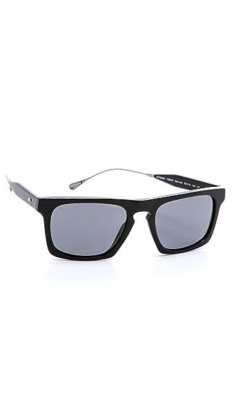 Oliver Peoples West San Luis Black Sunglasses