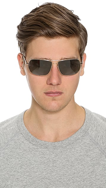 Oliver Peoples West Bates Polarized Sunglasses