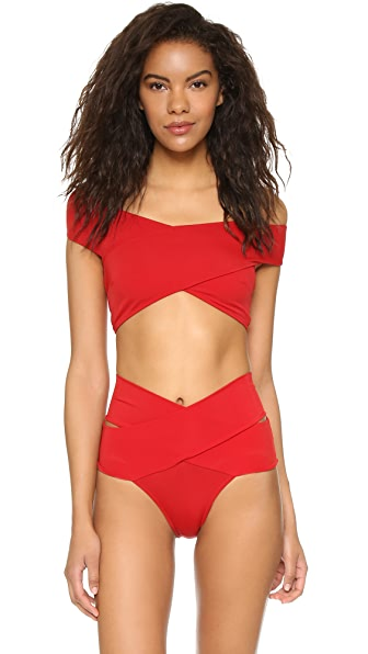 OYE Swimwear Lucette Bikini - Red