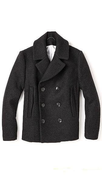 Patrik Ervell Wool Pea Coat