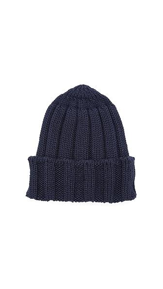 Patrik Ervell Baby Alpaca Rib Knit Cap