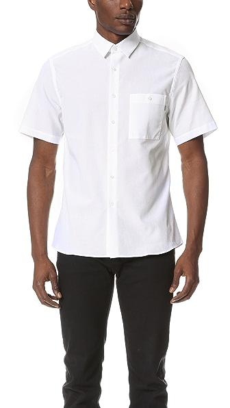Patrik Ervell Stitchless Short Sleeve Shirt