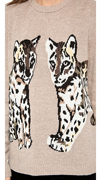 Paul & Joe Sister Animal Sweater