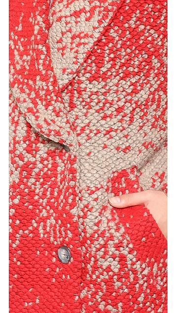 Paul & Joe Sister Racine Wrap Cardigan Sweater
