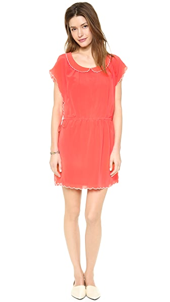 Paul & Joe Sister Klara Scallop Mini Dress