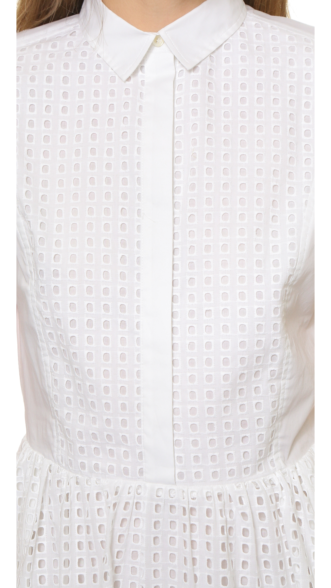 Robe blanche paul et joe