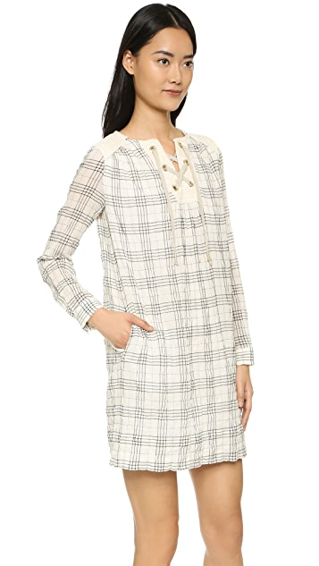 Paul & Joe Sister Carioca Plaid Dress
