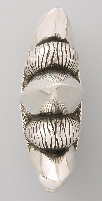 Pamela Love Three Finger Spike Ring