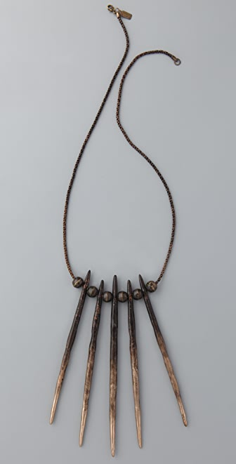 Pamela Love Porcupine Needle Necklace
