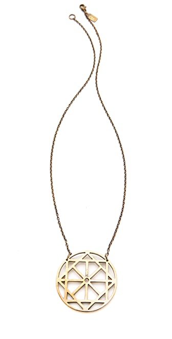 Pamela Love Arch Pendant Necklace