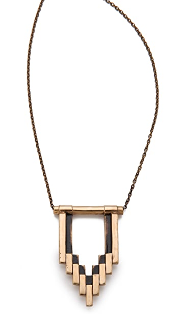 Pamela Love Stacked Empire Necklace