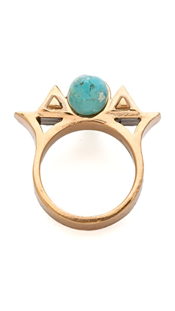 Pamela Love Triangular Cutout Ring
