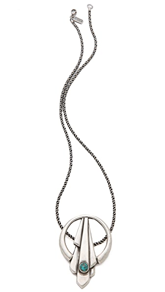 Pamela Love Keyhole Necklace