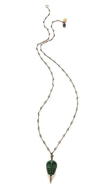 Pamela Love Skull Pendant Necklace