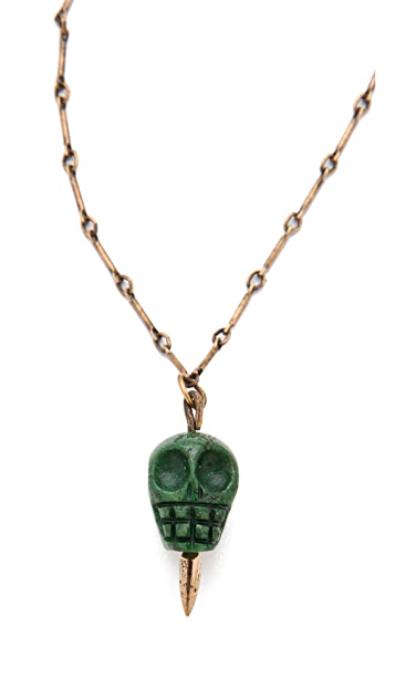 Pamela Love Skull Pendant Necklace