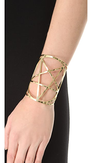 Pamela Love Mini Pentagram Cuff