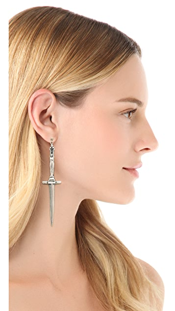 Pamela Love Dagger Earrings