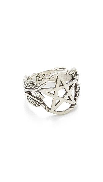 Pamela Love Pentagram Ring