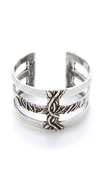 Pamela Love Vine Cross Cuff