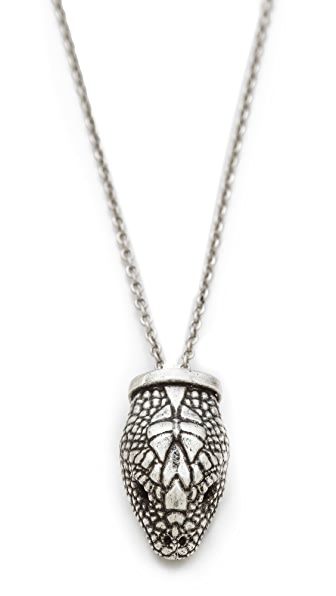 Pamela Love Small Serpentine Pendant Necklace