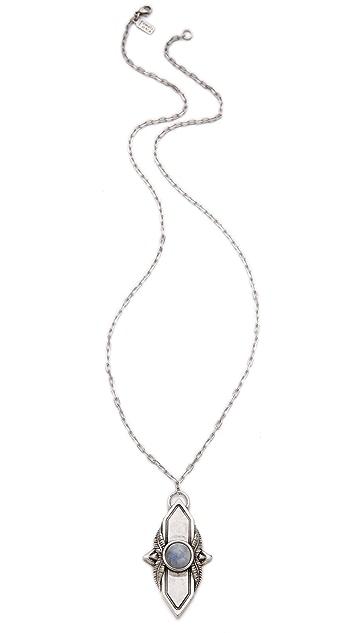 Pamela Love Shield Pendant Necklace