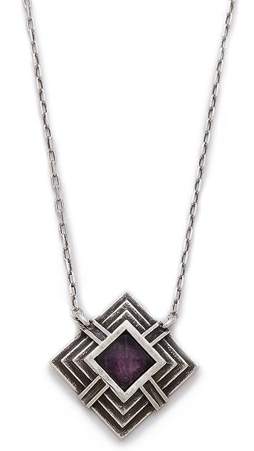 Pamela Love Small Step Pendant Necklace