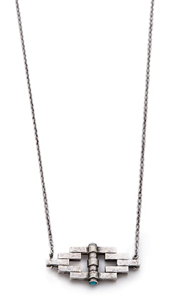 Pamela Love Small Reflection Pendant Necklace