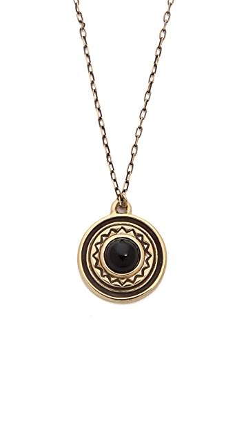 Pamela Love Solar Pendant Necklace