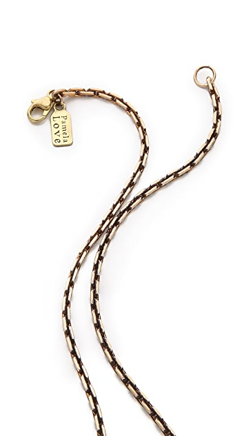 Pamela Love Sunset Pendant Necklace