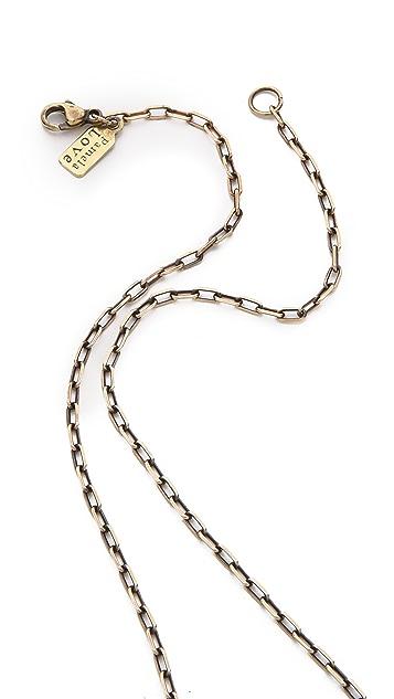Pamela Love Alacran Stone Pendant Necklace