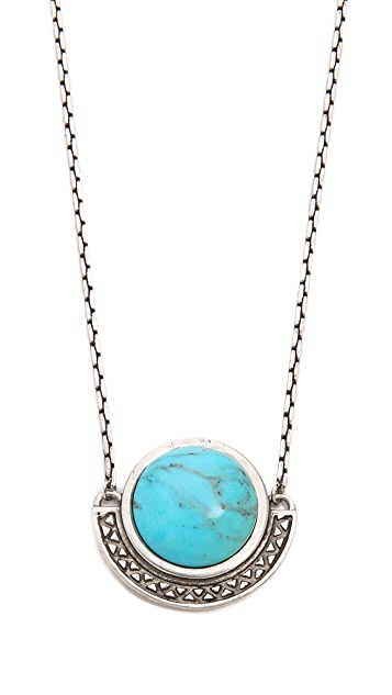 Pamela Love Sunset Pendant Necklace