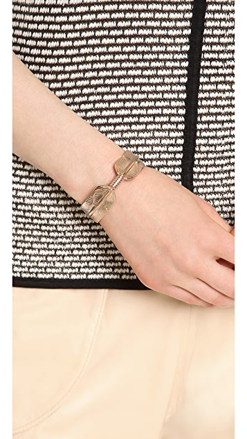 Pamela Love Feather Cuff Bracelet
