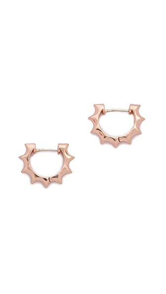 Pamela Love Sun Hoop Earrings