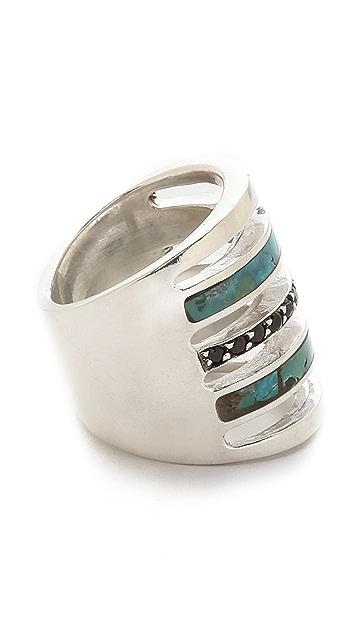 Pamela Love Inlay Pave Ring