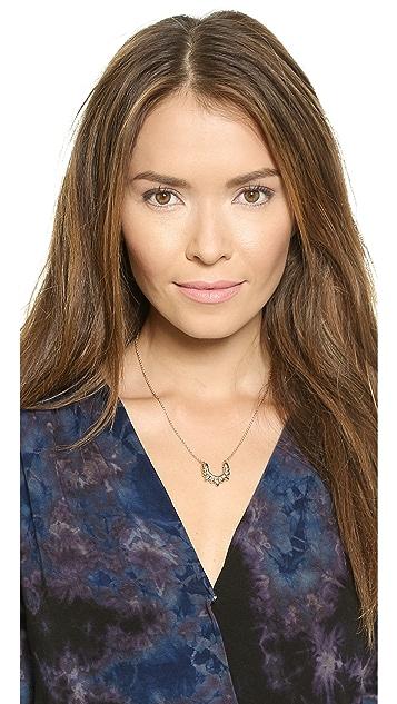 Pamela Love Mini Tribal Spike Pendant Necklace