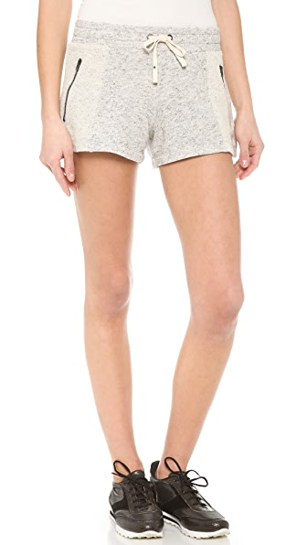 Pam & Gela Zip Detail Shorts