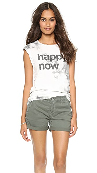 Pam & Gela Happy Now Muscle Tee