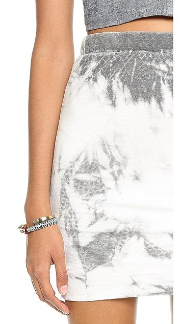 Pam & Gela Side Ruched Skirt