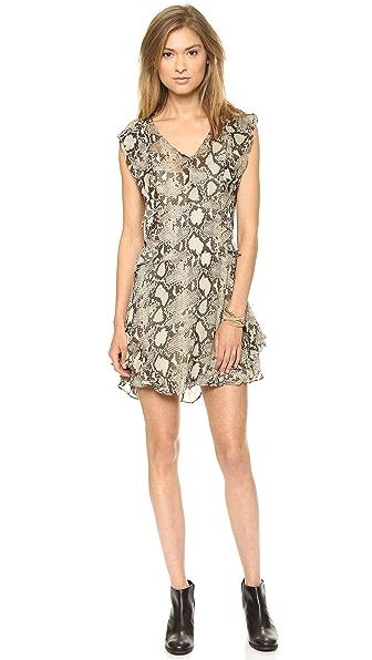 Pam & Gela Flutter Sleeve Dress
