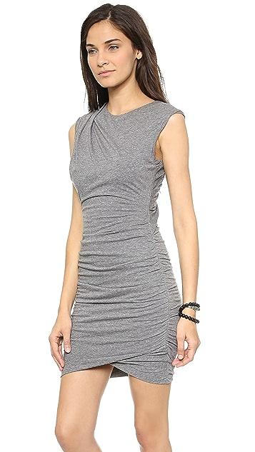 Pam & Gela Twisted Jersey Dress