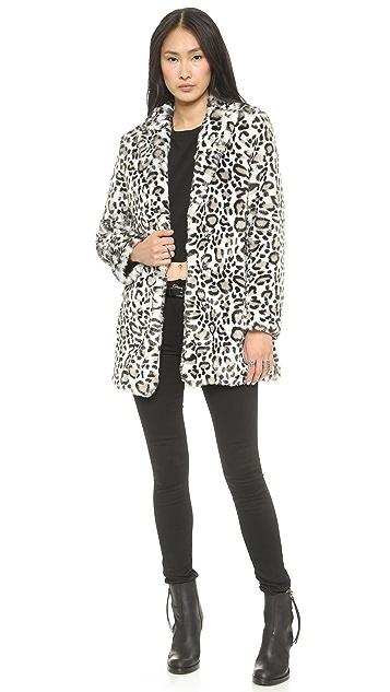 Pam & Gela Faux Fur Coat