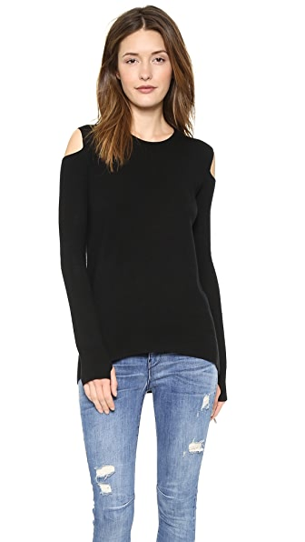 Pam & Gela Shoulder Cut Top
