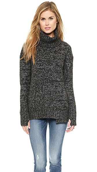 Pam & Gela Sweep Turtleneck Sweater