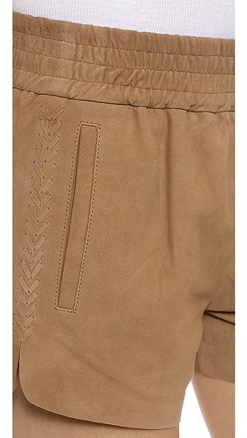 Pam & Gela Suede Shorts
