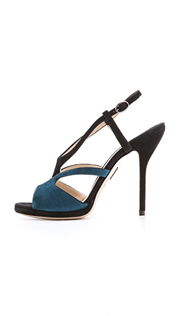 Paul Andrew Agadir Strap Heeled Sandals