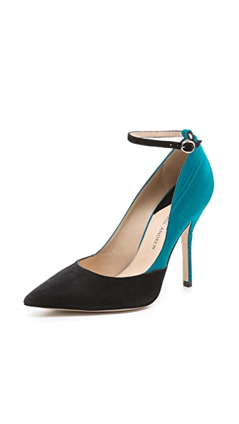 Paul Andrew Bouchra Suede Pumps