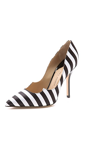 Paul Andrew Zenadia Satin Pumps